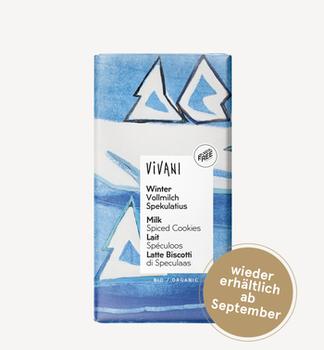 Молочный шоколад Winter bio Vivani 100g