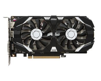MSI GeForce GTX 1050Ti 4GT OC /  4GB DDR5 128Bit 1455/7008Mhz, DVI, HDMI, DisplayPort, Dual fan, Military Class 4 (MIL-STD-810G), Gaming App, Retail