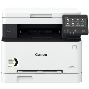 Canon i-Sensys MF641Cw Color Printer/Color Copier/Color Scanner, A4, WiFi, Network Card, 1200x1200 dpi with IR (600x600dpi), 18 ppm, 1GB, USB 2.0, Cartridge 054 Black (1500 pages 5%), Color 054 Cyan, magenta, Yellow (1200p. 5%)