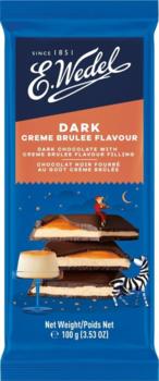 купить Горький шоколад Wedel Creme Brulee, 100г в Кишинёве