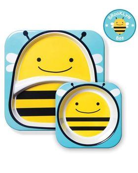 купить Набор Skip Hop Zoo Тарелка и миска Пчелка в Кишинёве
