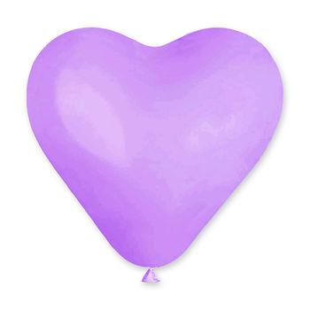 купить Шарик Сердечко с Гелием - Бледно Фиолетовое в Кишинёве