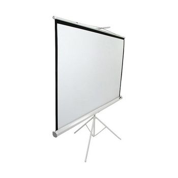 "Elite Screens 136""(1:1) 243,8x243,8cm Tripod Series Pull Up, White"