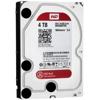 Western Digital WD40EFRX Caviar® Red™ NAS 4.0TB, IntelliPower, 64Mb, SATAIII