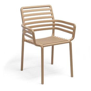 Кресло Nardi DOGA ARMCHAIR CAPPUCCINO 40254.14.000 (Кресло для сада и террасы)