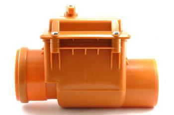 купить Обратный клапан  ПВХ  dn50 - MPLAST (оранж) в Кишинёве