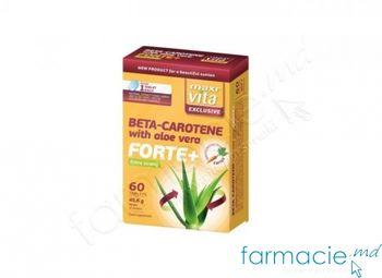 cumpără Beta-Caroten cu Aloe Vera Forte+ tab. N60 MaxiVita în Chișinău