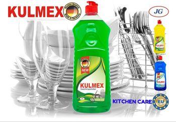KULMEX - гель для мытья посуды - Apple, 1L