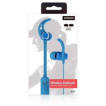 купить Наушники JoyRoom Bluetooth JR-D3 Blue в Кишинёве