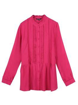 Блуза TOP SECRET Фуксия skl2717