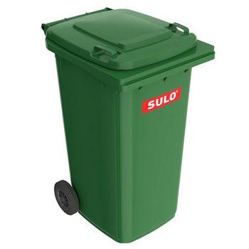 купить Контейнер для мусора 240 л, зеленый в Кишинёве