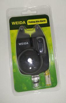 Сигнализатор поклевки WEIDA, с батарейкой