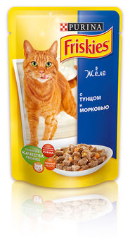 купить FRISKIES Adult (тунец в подливе), 100гр в Кишинёве