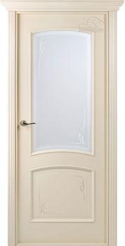 купить Дверь СОРРЕНТО слоновая кость остекленная в Кишинёве