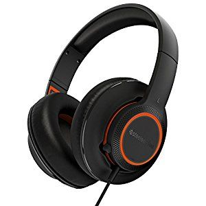 STEELSERIES Siberia 150 / Gaming Headset with High-quality Microphone, Natural Sound, 40mm neodymium drivers, 16.8M colors of illumination, Over-ear Design, Lightweight, Compatibility (PC/Mac/PS4), Cable lenght 1.5 m, USB, Black