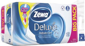купить Zewa Deluxe туалетная бумага 3-х слойная, 16 рулонов в Кишинёве