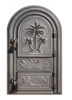 Дверь для печи Пальма без стекла