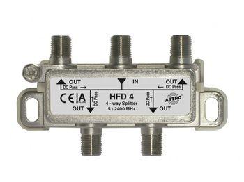 купить HFD 4 (Splitter 4-way, 5 - 2400 MHz) в Кишинёве