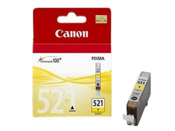купить Ink Cartridge Canon CLI-521Y, Yelow в Кишинёве