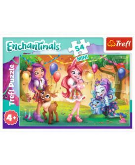 "Пазлы - ""54 mini"" - ""Happy day of Enchantimals / Mattel Enchantimals"", код 42251"