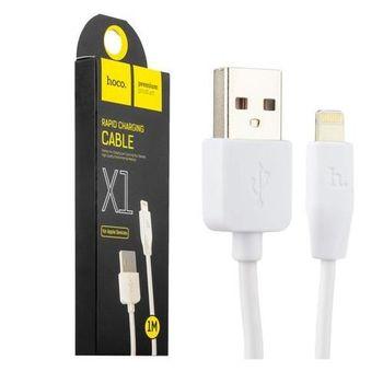 купить Hoco X1 Rapid Charging cable Apple 1M, White в Кишинёве