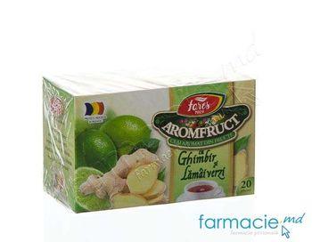 купить Ceai Fares Ghimbir si Lamie 1.5g N20 в Кишинёве