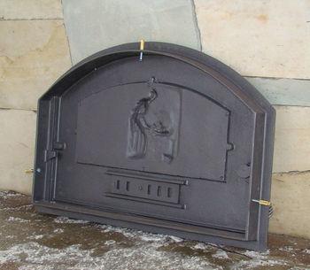 Дверца чугунная глухая правая DCHD2-Р