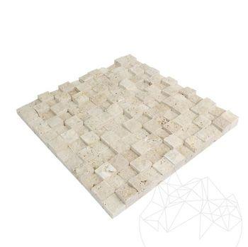 купить Травертин 3D Scapitat мозаика 2.5 x 2.5 см в Кишинёве