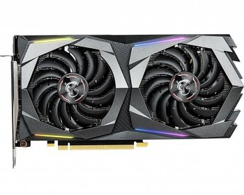 MSI GeForce GTX 1660 Ti GAMING X 6G /  6GB DDR6 192Bit 1875/12000Mhz, 1x HDMI, 3x DisplayPort, Dual fan - TWIN FROZR 7 Thermal Design (Zero Frozr/Airflow Control Technology), TORX Fan3.0, RGB Mystic