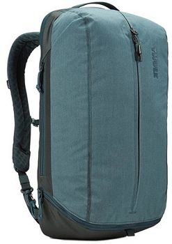 "15.6"" NB Backpack - THULE Vea 21L, Deap Teal, Safe-zone, Polyester melange, 800D nylon, Dimensions: 31 x 24 x 50 cm, Weight 1.2 kg, Volume 21L"
