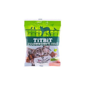 TiTBiT Хрустящие подушечки паштетом из индейки 30 gr
