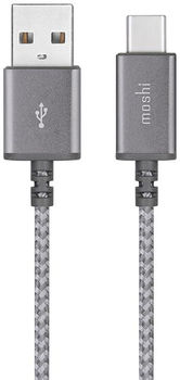 Cablu Moshi Integra iPhone Type C USB Cable Gray