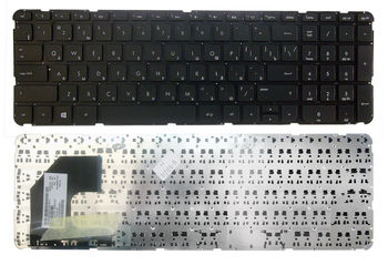 "Keyboard HP Pavilion 15-B 15-U w/o frame ""ENTER""-small ENG/RU Black"