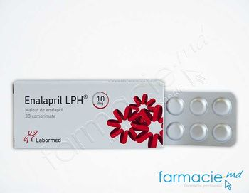 купить Enalapril LPH comp. 10 mg N10x3 в Кишинёве