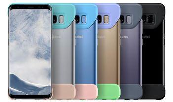 cumpără Husă telefon Samsung EF-MG955, Galaxy S8+, 2Piece Cover, Violet în Chișinău