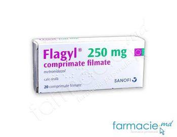 купить Флагил,табл. в оболочке 250 мг N20 в Кишинёве