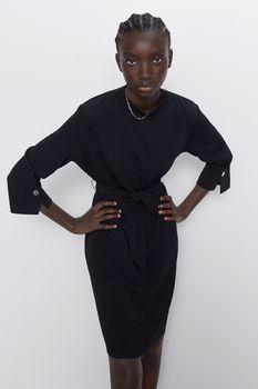 Платье ZARA Чёрный 1165/642/800