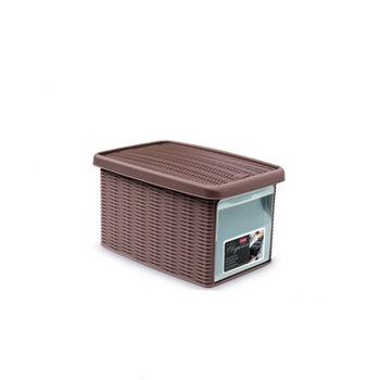 купить Коробка Elegance с боковой дверцей S 190x290x160 мм, бежевый в Кишинёве