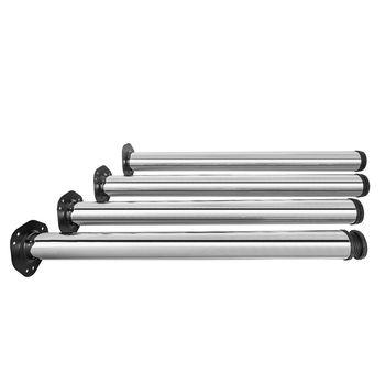 Picior pentru masă crom 710/60 mm