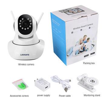 купить IP-камера с датчиком движения и ночным видением LOOSAFE LS-F2. Видеоняня в Кишинёве