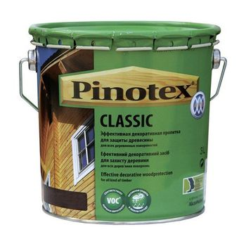 Pinotex Пропитка Pinotex Classic Орегон 3л