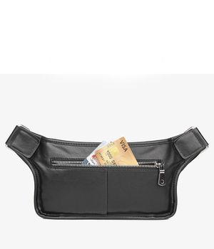 купить Нагрудная поясная сумка для мужчин из натуральной  кожи. в Кишинёве