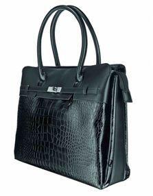 """Trust NB bag 16"""" - Milazzo (Ladies bag), Black"""