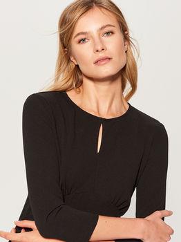 Платье MOHITO Чёрный uy622-99x