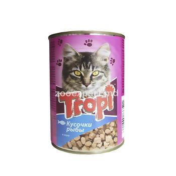 купить Tropi кусочки в соусе с рыбой 415 gr в Кишинёве