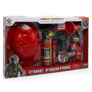 купить Игровой набор с каской Firefighting в Кишинёве