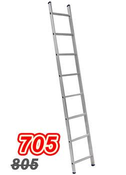 купить Лестница Алюм.  односторонняя  VHR TK 1x8(2,17м) в Кишинёве