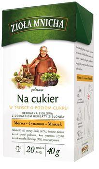 Чай Monastic Herbs for Blood Sugar, 20 шт