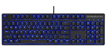 STEELSERIES Apex M400 / Mechanical Gaming Keyboard (SteelSeries QX1 Linear Mechanical Gaming Switches), Individual Blue LED Illumination, Full programmable keys, Full Anti-Ghosting, Cable lenght 2m, USB, US Layout