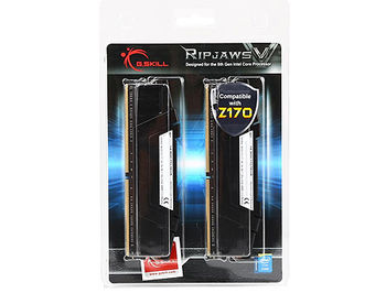 32GB DDR4 Dual-Channel Kit G.SKILL Ripjaws V F4-3600C18D-32GVK 32GB (2x16GB) DDR4 PC4-28800 3600MHz CL18, Retail (memorie/память)